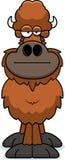 Cartoon Buffalo Bored Stock Photo