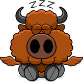 Cartoon Buffalo Wings Napping Royalty Free Stock Photography