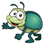 Cartoon bug Royalty Free Stock Photos