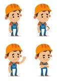 Cartoon Builders Stock Photos