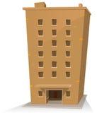 Cartoon Building stock illustration