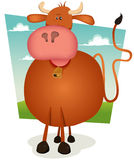 Cartoon Bull Stock Photography