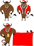 Cartoon bull Royalty Free Stock Image