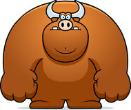 Cartoon Bull Royalty Free Stock Photo