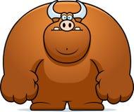 Cartoon Bull Royalty Free Stock Photo