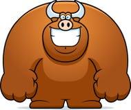 Cartoon Bull Smiling Stock Photos