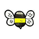 cartoon bumble bee Stock Photography