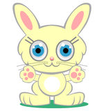 Cartoon bunny royalty free illustration