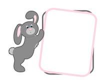 Cartoon bunny Stock Image