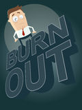 Cartoon burnout background Stock Photo