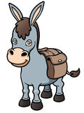 Cartoon burro Royalty Free Stock Images