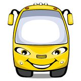 Cartoon bus Stock Image