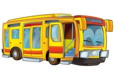 Cartoon bus Royalty Free Stock Image