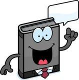 Cartoon Business Book Talking Stock Photos