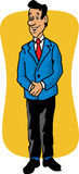 Cartoon of a business man Royalty Free Stock Photography