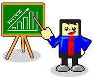 Cartoon Businessman Royalty Free Stock Image