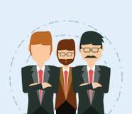 Cartoon Businessman design Stock Images