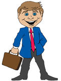 Cartoon Businessman Stock Photography