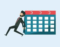 Cartoon Businessman design Stock Image