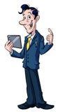 Cartoon businessman Royalty Free Stock Photography