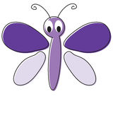 Cartoon Butterfly Royalty Free Stock Photo