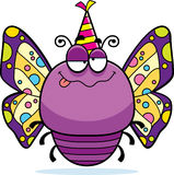 Cartoon Butterfly Drunk Party Stock Photography