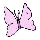 Cartoon butterfly symbol Royalty Free Stock Photo