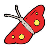 Cartoon butterfly symbol Stock Photos