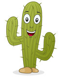 Cartoon Cactus Character Stock Image