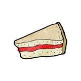 Cartoon cake slice, Royalty Free Stock Photos