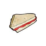Cartoon cake slice, Stock Image