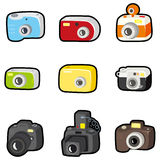 Cartoon camera icon Royalty Free Stock Image