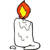 Cartoon candle Royalty Free Stock Photo