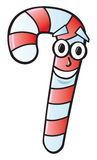 Cartoon Candy Cane Stock Photography
