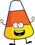 Cartoon Candy Corn Happy Stock Image