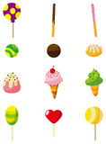 Cartoon candy icon. Vector drawing Stock Images