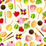 Cartoon candy icon. Vector drawing Stock Image