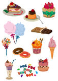 Cartoon candy icon Stock Photos