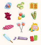 Cartoon candy icon Stock Image