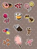 Cartoon Candy Stickers Royalty Free Stock Photos