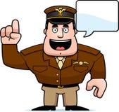 Cartoon Captain Talking Stock Photos