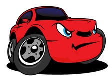 Cartoon car Stock Images