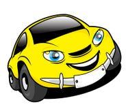 Cartoon car Royalty Free Stock Photo