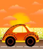 Cartoon car Royalty Free Stock Photos