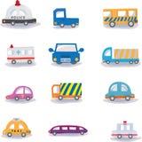 Cartoon car Royalty Free Stock Images