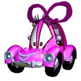 Cartoon car. 3d render of Cartoon car Royalty Free Stock Photography
