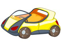 Cartoon Car Stock Image