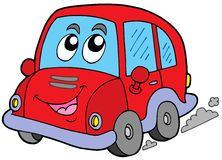 Cartoon car vector illustration