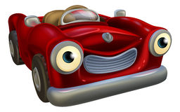 Cartoon car character Royalty Free Stock Images