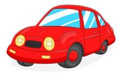 Cartoon car. Cartoon cute car isolated on white background vector illustration